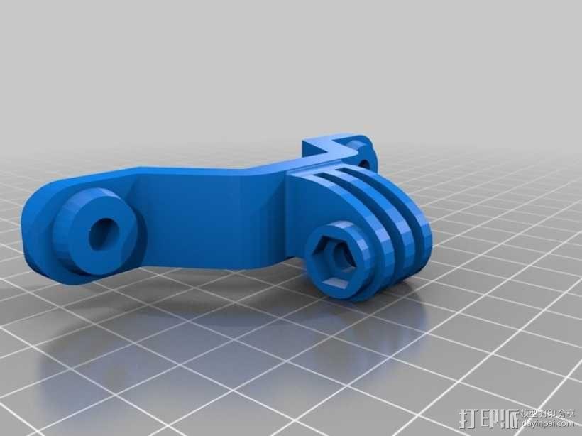 GoPro相机底座 3D模型  图6
