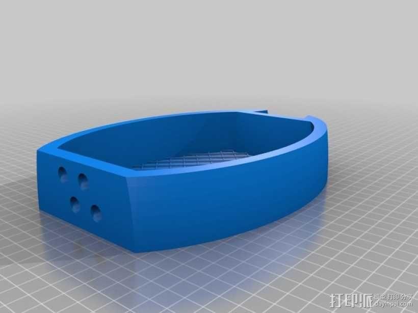 乌克丽丽 3D模型  图4