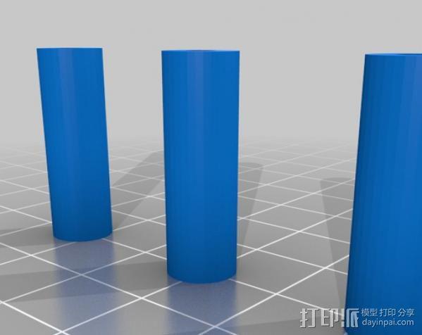 六旋翼飞行器 3D模型  图3