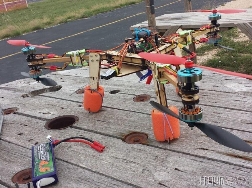 六旋翼飞行器 3D模型  图1