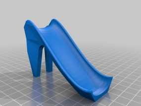 滑滑梯模型 3D模型