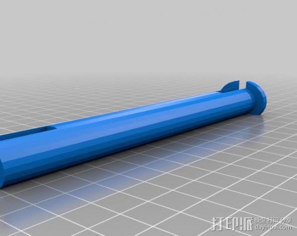 PLQ2 Hugin 水平杆 3D模型  图2