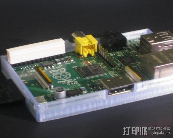 26针电缆连接器帽 3D模型  图4