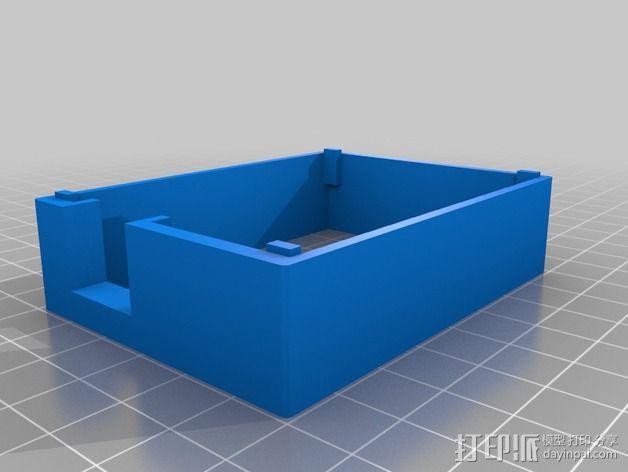 Arduino Uno——不需要螺丝 3D模型  图2