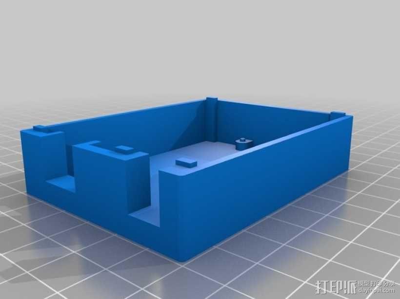 Arduino Uno——不需要螺丝 3D模型  图4