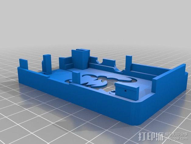 OctoPrint Raspberry Pi 壳子 3D模型  图2
