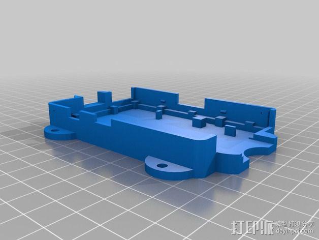 OctoPrint Raspberry Pi 壳子 3D模型  图3