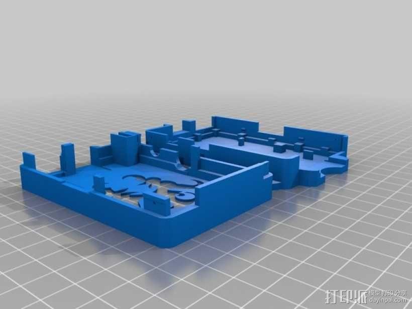 OctoPrint Raspberry Pi 壳子 3D模型  图4