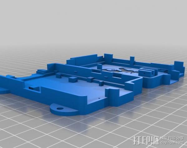 OctoPrint Raspberry Pi 壳子 3D模型  图5