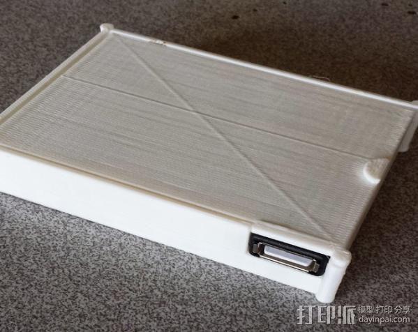 用两节AA电池做出你自己的1A+5V USB充电器 3D模型  图2