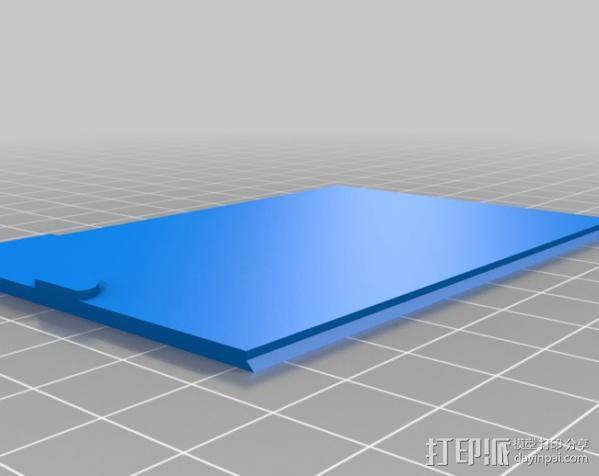 用两节AA电池做出你自己的1A+5V USB充电器 3D模型  图8