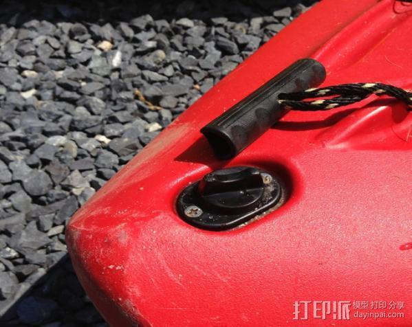 kayak 塞子 3D模型  图5