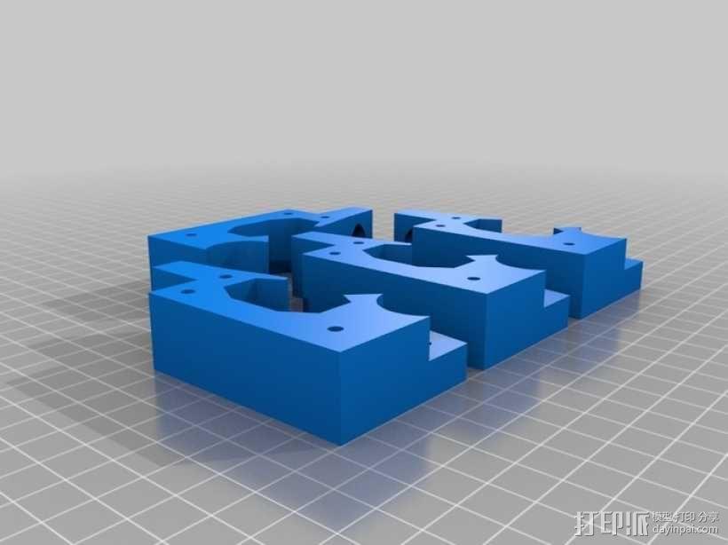 铁路轨道夹 3D模型  图4