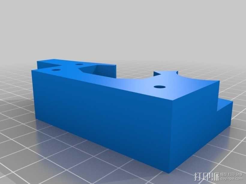 铁路轨道夹 3D模型  图3
