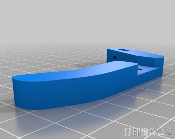 无弹性的吉他品柱 3D模型  图6