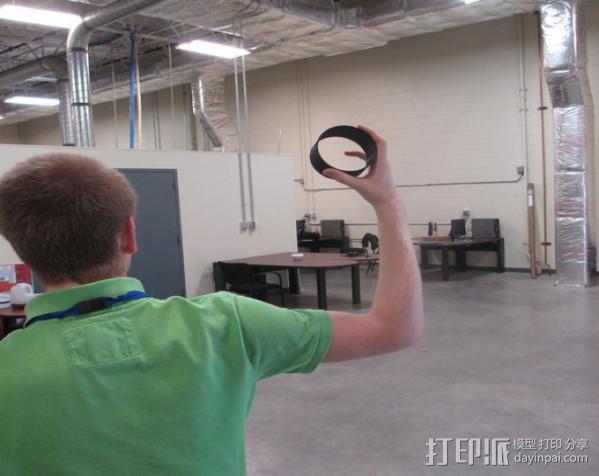 飞行陀螺仪 3D模型  图4