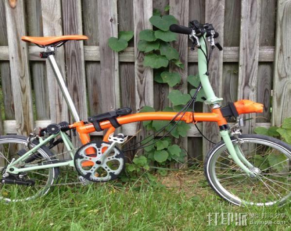 自行车载盖面 3D模型  图5