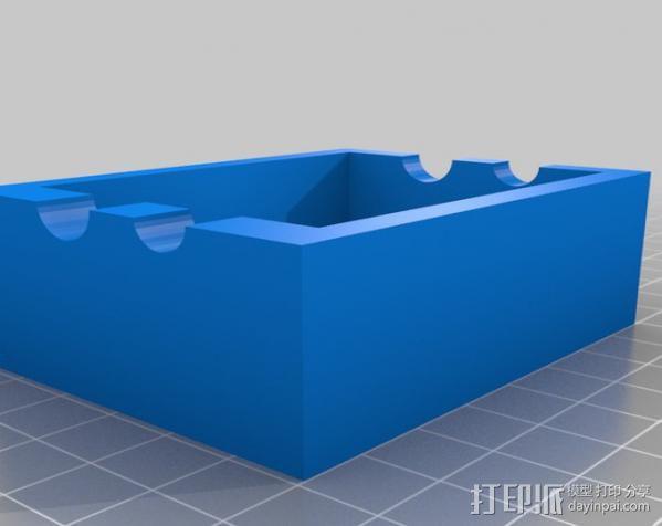 双螺杆增压器工具 3D模型  图4