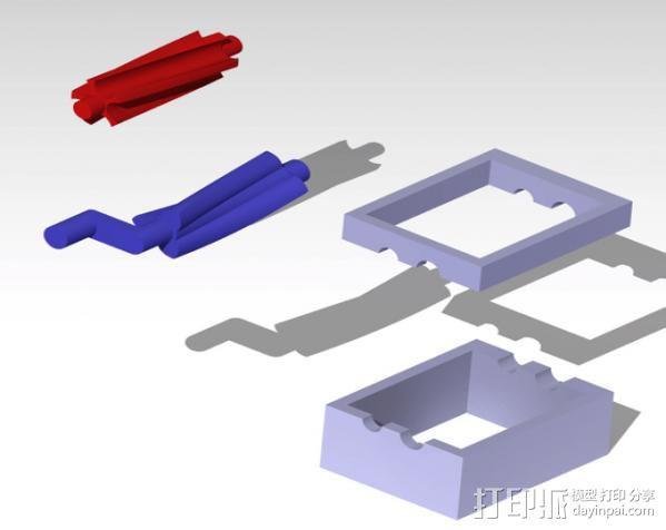 双螺杆增压器工具 3D模型  图7