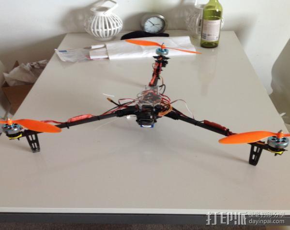 DT750发动机架 3D模型  图7