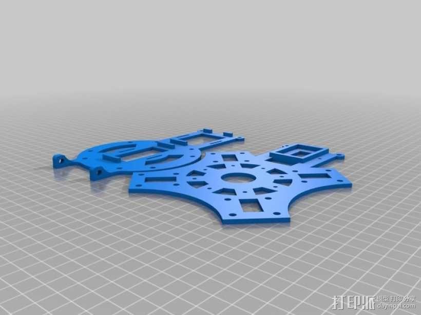 3D打印 四轴打印器 3D模型  图6