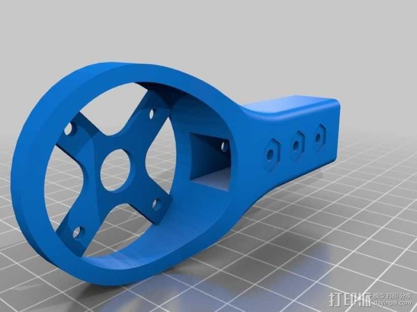 四轴飞行器 发动马达 3D模型  图3