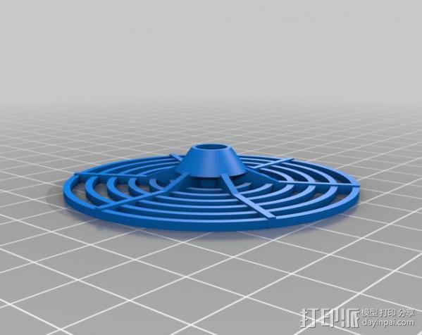 结实的磁盘玩具 3D模型  图1