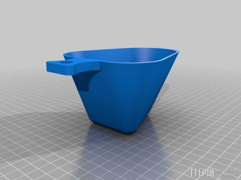 现代版传统水杯 3D模型  图1