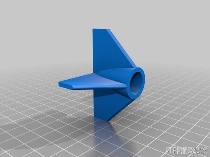 水下滑翔机设计 3D模型  图5