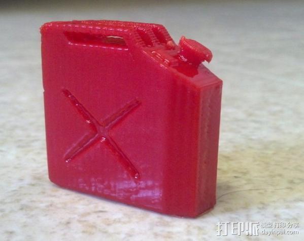 油气罐 3D模型  图1