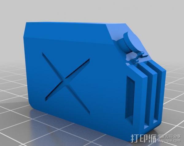 油气罐 3D模型  图2