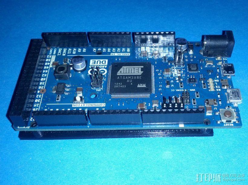 开源硬件安装板 3D模型  图1