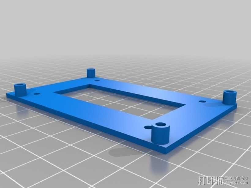 开源硬件安装板 3D模型  图3