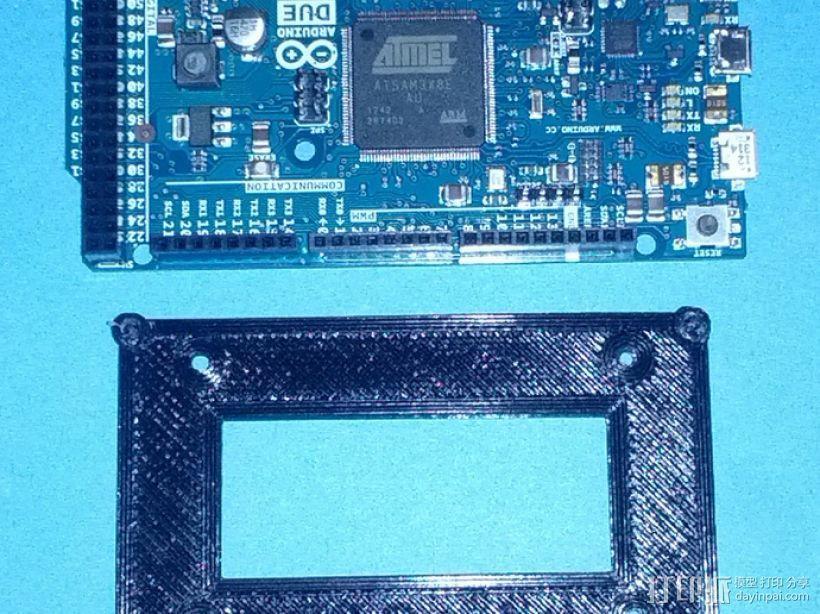 开源硬件安装板 3D模型  图2