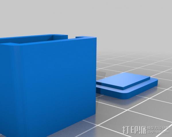 串联开关箱 3D模型  图2