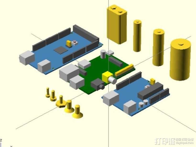 KSolids——开放式SCAD图书馆 3D模型  图1