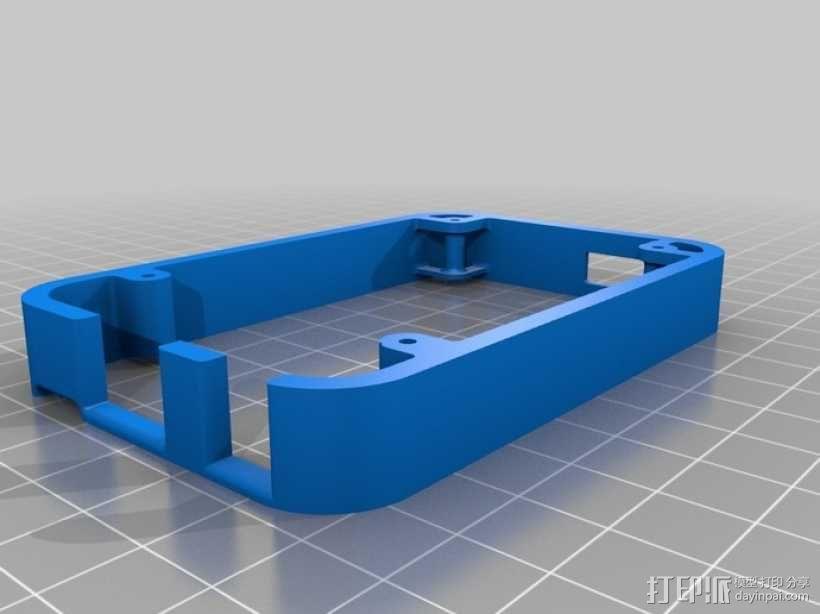 骨黑模块盒 3D模型  图3
