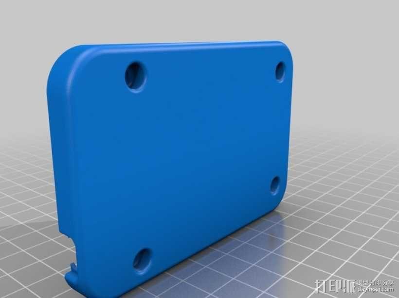 骨黑模块盒 3D模型  图2