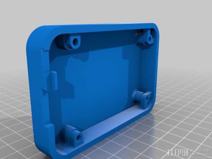 骨黑模块盒 3D模型  图4