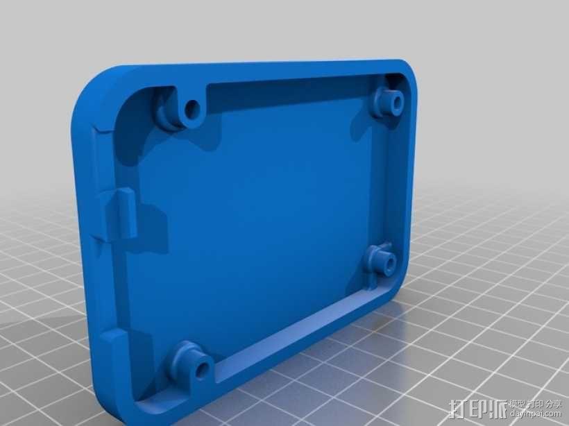 骨黑模块盒 3D模型  图5
