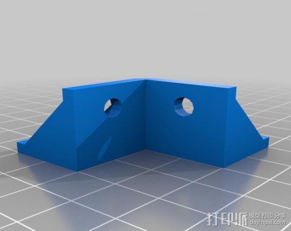 20mm挤压器 3D模型  图2