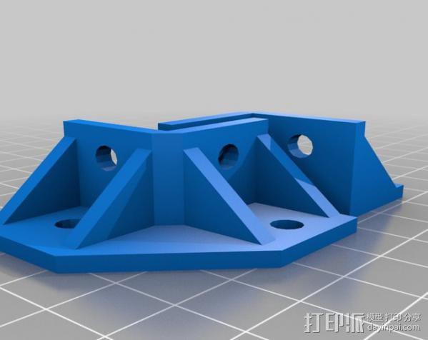 20mm挤压器 3D模型  图3