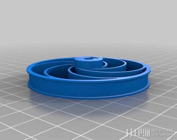Bas车轮 v1.14 3D模型  图2