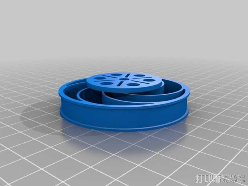 Bas车轮 v1.14 3D模型  图1
