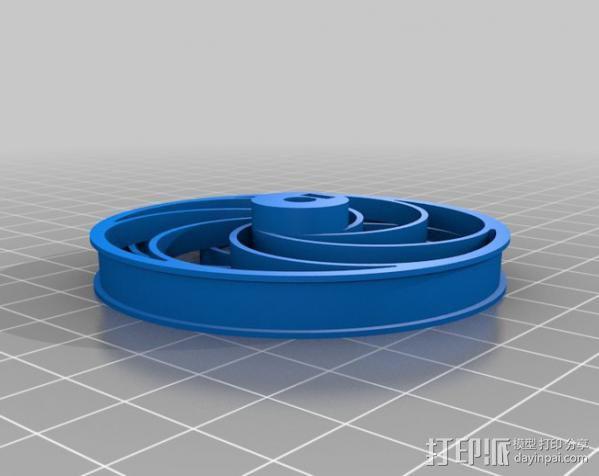 Bas车轮 v1.14 3D模型  图3