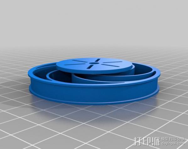 Bas车轮 v1.14 3D模型  图5