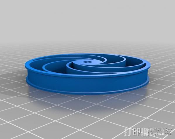 Bas车轮 v1.14 3D模型  图6