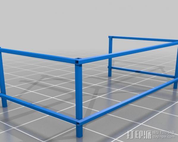 嵌套管表 3D模型  图2