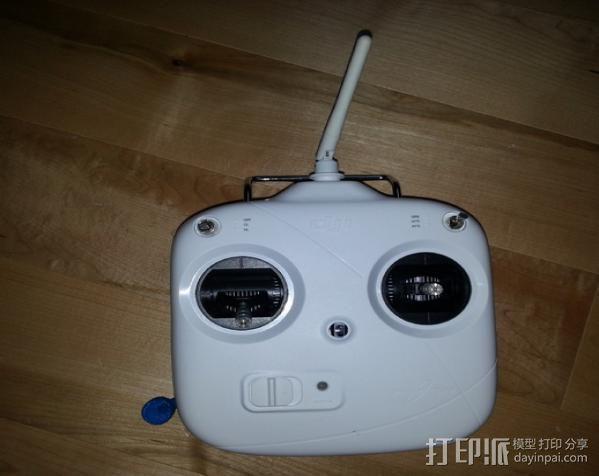 V1 DJI 节杆控制设备 3D模型  图4