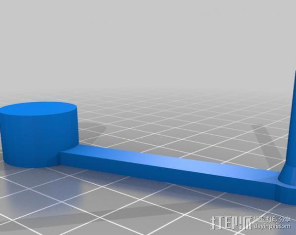 V1 DJI 节杆控制设备 3D模型  图3